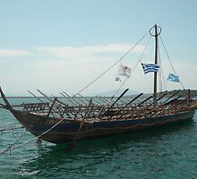 Argo ship by Chris Taklis