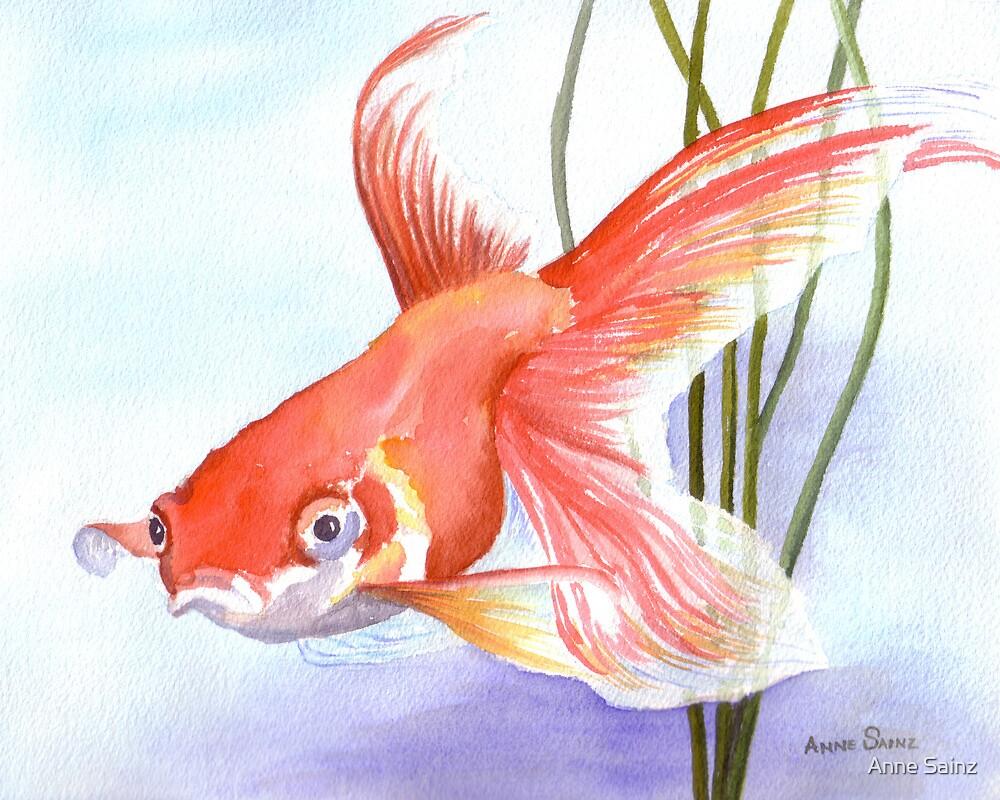 Goldfish by Anne Sainz