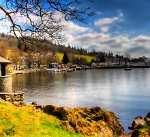 Lake Windermere, from Ambleside. by Gavin Haworth