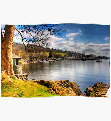 Lake Windermere, from Ambleside. Poster