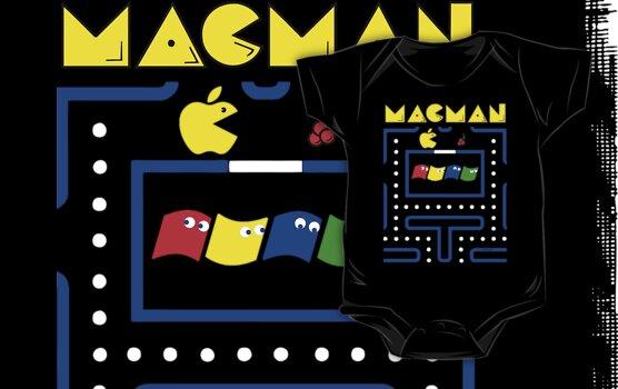 Mac-Man by emoryarts