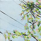 False Spring Panel 1 by Amy-Elyse Neer