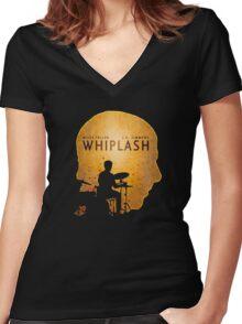 Whiplash Women's Fitted V-Neck T-Shirt