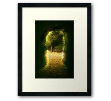 aura sublimis Framed Print