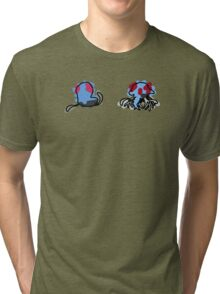 Tentacool Tentacruel Tri-blend T-Shirt