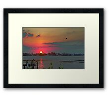 Land of love Framed Print