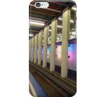 Metro rails at Rotterdam iPhone Case/Skin