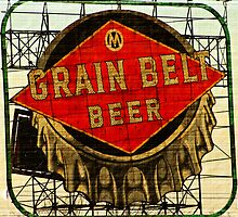 Grain Belt Beer by Lynne Prestebak