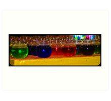 Fishbowl Rainbow Art Print