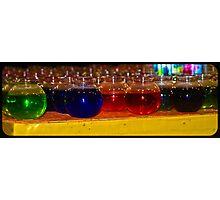 Fishbowl Rainbow Photographic Print