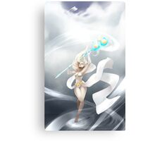 Janna - The Storm's Fury Canvas Print
