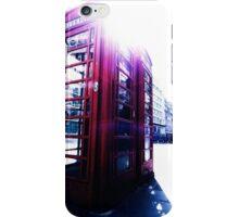 london in love telephone iPhone Case/Skin