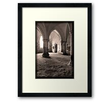 The Chamber - Lacock Abbey Framed Print