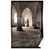 The Chamber - Lacock Abbey Poster