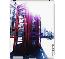 london in love telephone iPad Case/Skin