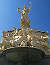 Athena Fountain at The Austrian Parliament. by Lee d'Entremont