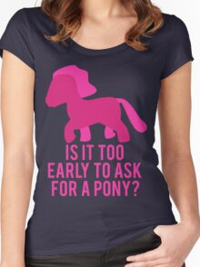 Baby Wants Pony Women's Fitted Scoop T-Shirt