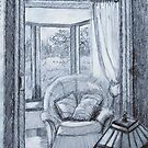 View into Sitting Room by Geraldine M Leahy