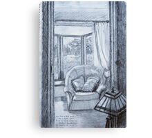 View into Sitting Room Canvas Print