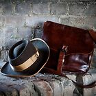 Civil War Hat and Sack by Janis Lee Colon