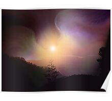 Healing Wings Arising at Dawn Poster