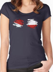 Voltorb Electrode Women's Fitted Scoop T-Shirt