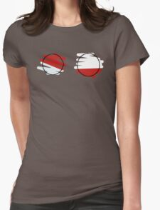 Voltorb Electrode Womens Fitted T-Shirt