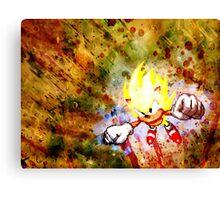 Going Super Sonic Canvas Print