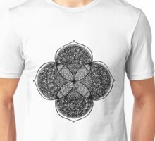 Lots of flowers mandala - OneMandalaAday Unisex T-Shirt