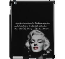 Marilyn Monroe Quote iPad Case/Skin