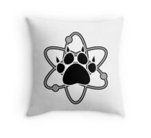 Carl Grimes Bear Paw and Atom (Gray) T-Shirt - Comics Throw Pillow