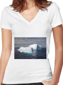 Cool-Whip Cool Women's Fitted V-Neck T-Shirt
