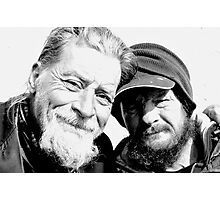 Homeless Best Friends Photographic Print