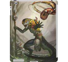 Lizardman Host iPad Case/Skin