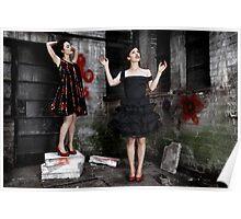 Miss Trust; Pose Poster