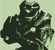 Master Chief Mk V by Shazzle69