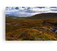 The Isle of Skye, Scotland. UK Canvas Print