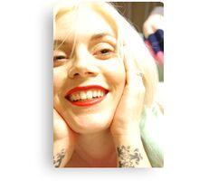 Angel's Smile Canvas Print