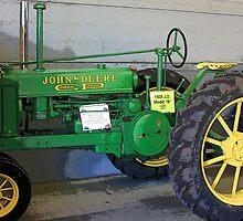 1935 John Deere Tractor, Model B by AuntDot