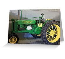 1935 John Deere Tractor, Model B Greeting Card