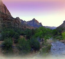 ZION Canyon by Charmiene Maxwell-Batten