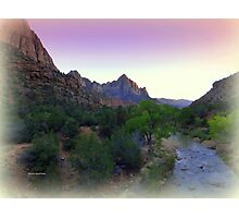 ZION Canyon Photographic Print