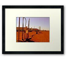Outback Servo Framed Print