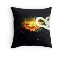 love travels Throw Pillow