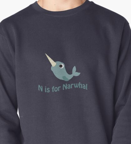 N is for Narwhal Pullover