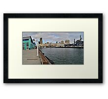 Dock of the Bay- San Diego, California Framed Print