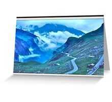 Alps in the Clouds Greeting Card