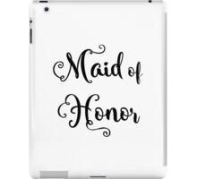 Maid of Honor iPad Case/Skin