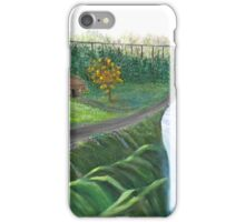 Country Back Road and River Waterfalls iPhone Case/Skin