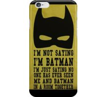 BatFake iPhone Case/Skin